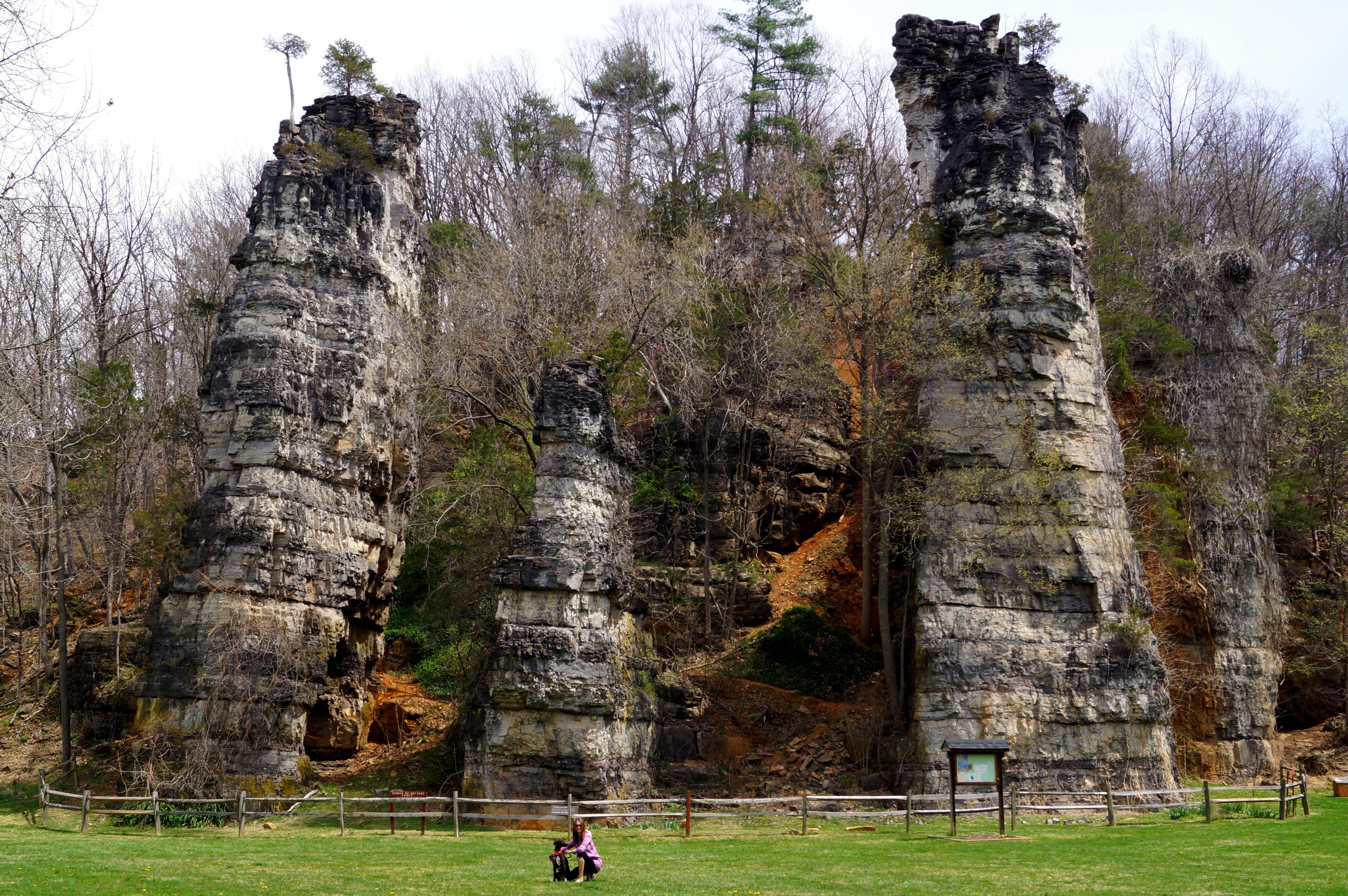 Natural Chimneys Park Mt Solon Va