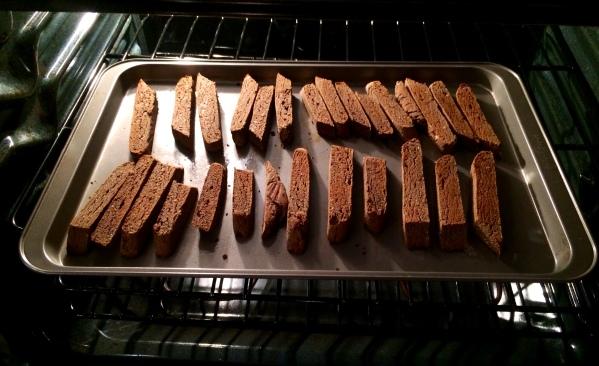 banana biscotti