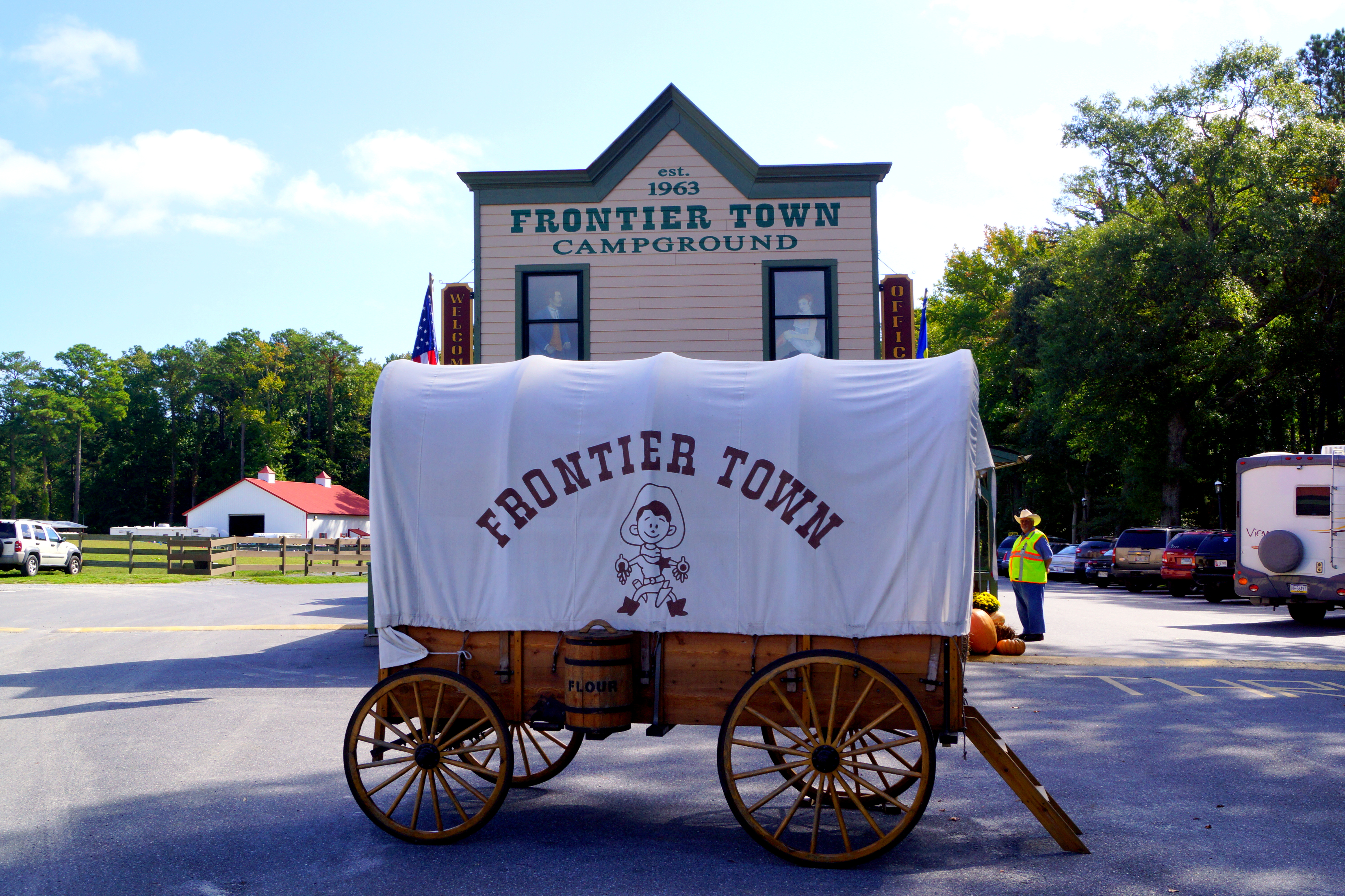 frontier town campground  berlin  md
