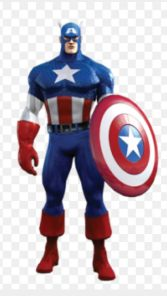 The picture I Googled of Captain America