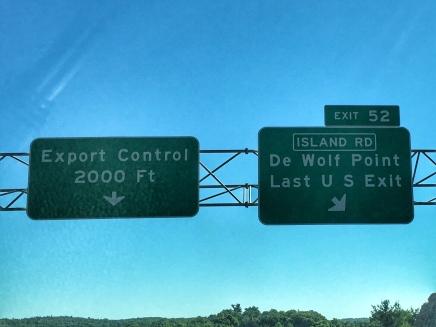 Last U.S. exit!